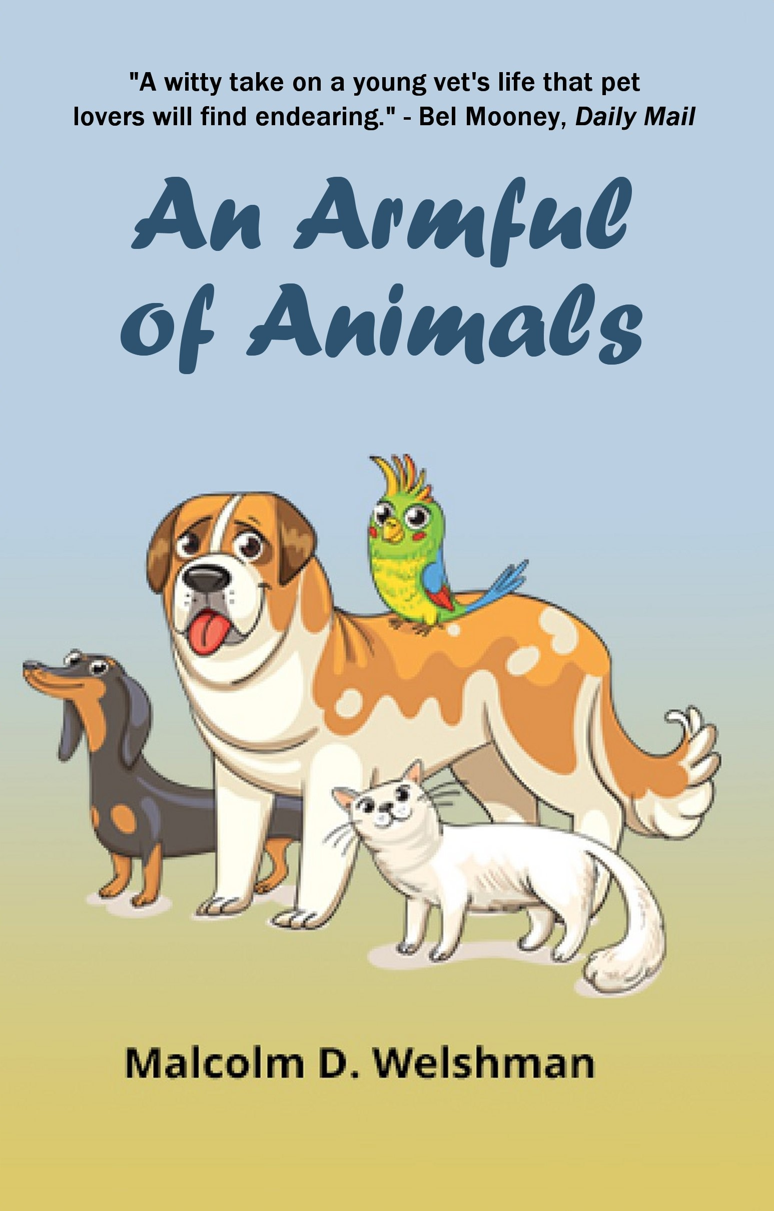 AN ARMFUL OF ANIMALS Cover